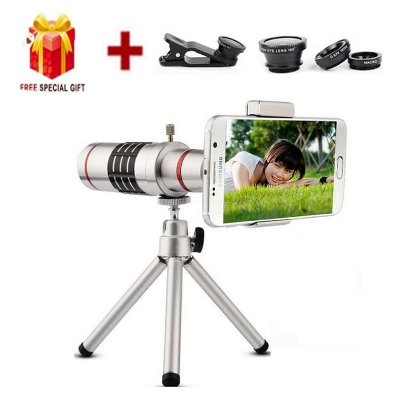 bilder für 18X Zoom Optische Teleskop Mit Mini-stativ Universal objektiv, kompatibel für alle arten von smartphone