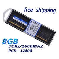 KEMBONA Desktop ddr3 8gb Ram 1600MHz No-ecc Desktop PC Memory 240-pins System full high Compatible