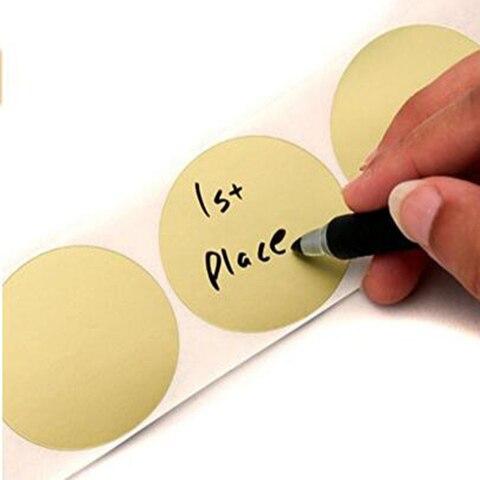 etiqueta de papel ouro codigo cor