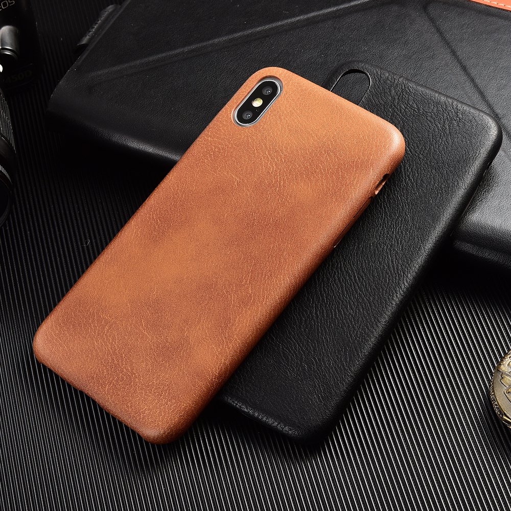 PU <font><b>Leather</b></font> Phone <font><b>Case</b></font> for <font><b>iPhone</b></font> 6 <font><b>6S</b></font> Plus 7 8 Plus Shockproof Bumper Phone <font><b>Case</b></font> for <font><b>iPhone</b></font> X XS Max XR XS Prime Coque image
