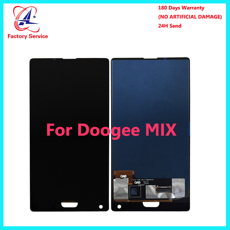 For 100% Original <font><b>DOOGEE</b></font> <font><b>MIX</b></font> AMOLED LCD <font><b>Display</b></font>+Touch Screen Screen Digitizer Assembly Replacement <font><b>5.5</b></font> inch Stock image