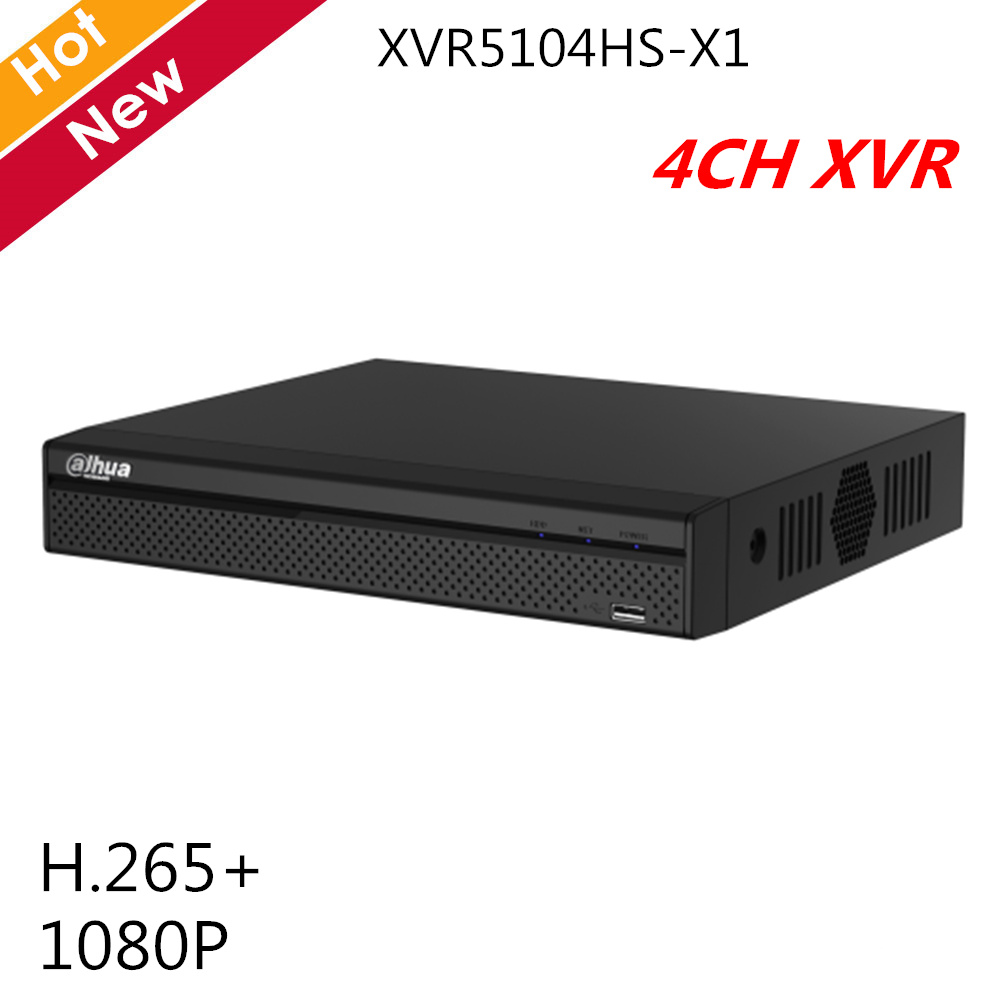 Dahua 4 Channel XVR Recorder Lite H.265 1080P Series H.265+ H.265 dual-stream Max 6 channels IP camera inputs Video RecorderDahua 4 Channel XVR Recorder Lite H.265 1080P Series H.265+ H.265 dual-stream Max 6 channels IP camera inputs Video Recorder