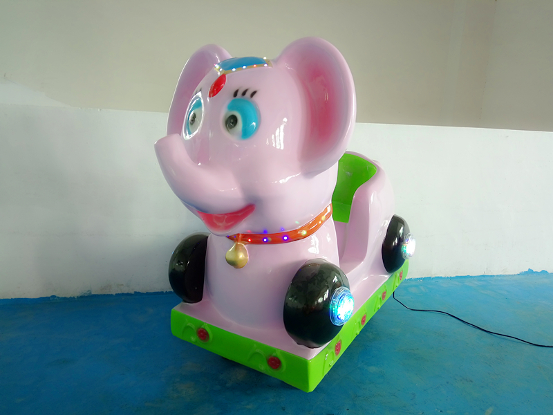 glass reinforced plastic coin operated kids Swing Machine FRP kiddie ride on car YLW K1827