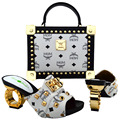 2016 Hot Selling Italian Shoes And Matching Bags Set With Stones white Nigerian ladies Shoes And Bags To Match   WVL1-13