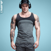 Aimpact cotton contrast color tank tops patchwork mens singlets bodybuilding clothing fitness sportive suit vintage crossfit.jpg 200x200