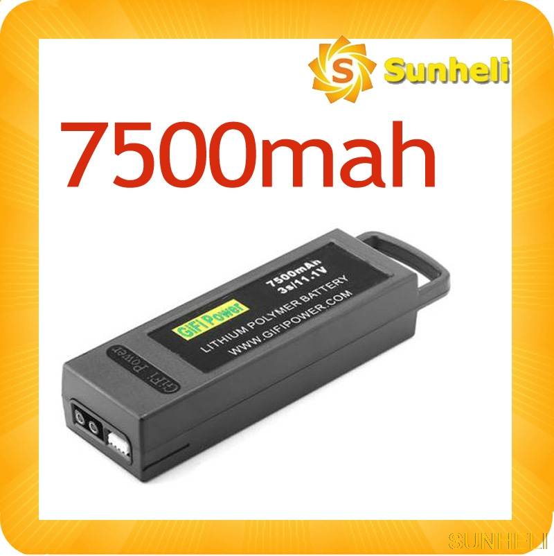 7500mAh /6400mah 3S 11.1V LiPo Battery For Yuneec Q500 Q500+ 4K PRO Drone quadcopter-in Parts & Accessories from Toys & Hobbies    1