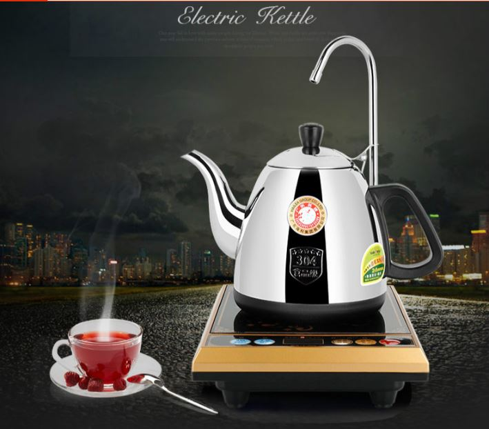 Electric teapot electric kettle automatic pumping with water heater tea set Anti-dry Protection