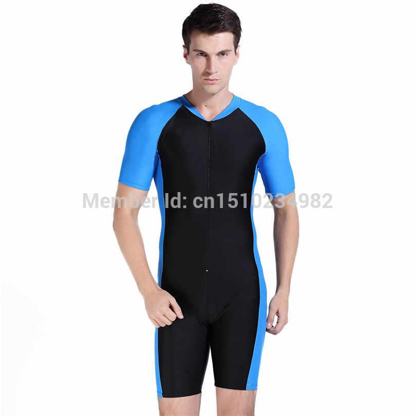Sbart 1007 nurkowanie Shorty kombinezon, mężczyźni i kobiety para plaża Surfing garnitury, krem do opalania anty-uv miękkie 0.3mm jednoczęściowy meduzy strój kąpielowy