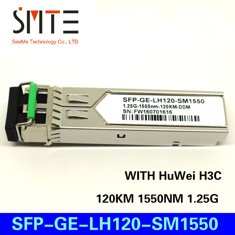 Compatible with HuWei H3C SFP-GE-LH120-SM1550 120KM 1550NM 1.25G gigabit optical moduleCompatible with HuWei H3C SFP-GE-LH120-SM1550 120KM 1550NM 1.25G gigabit optical module