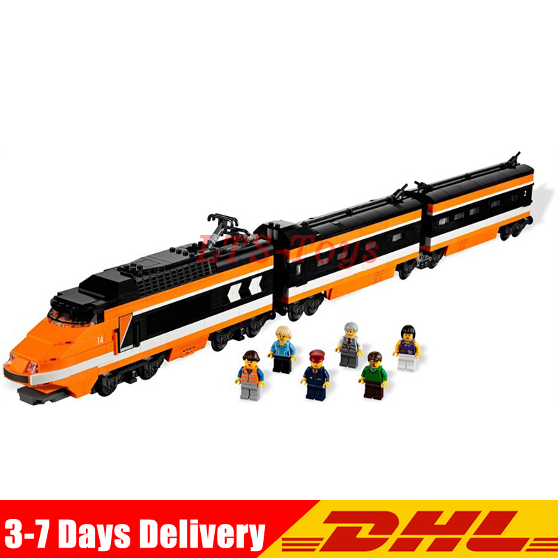 LEPIN 21007 1351Pcs Series Horizon Express Model Building Kit Blocks assemble BricksCompatible Legoings 10233 Children Toys