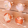 modern simple fashion rose golden furniture knobs amber drawer cabinet dresser knobs pulls handles glass crystal knobs