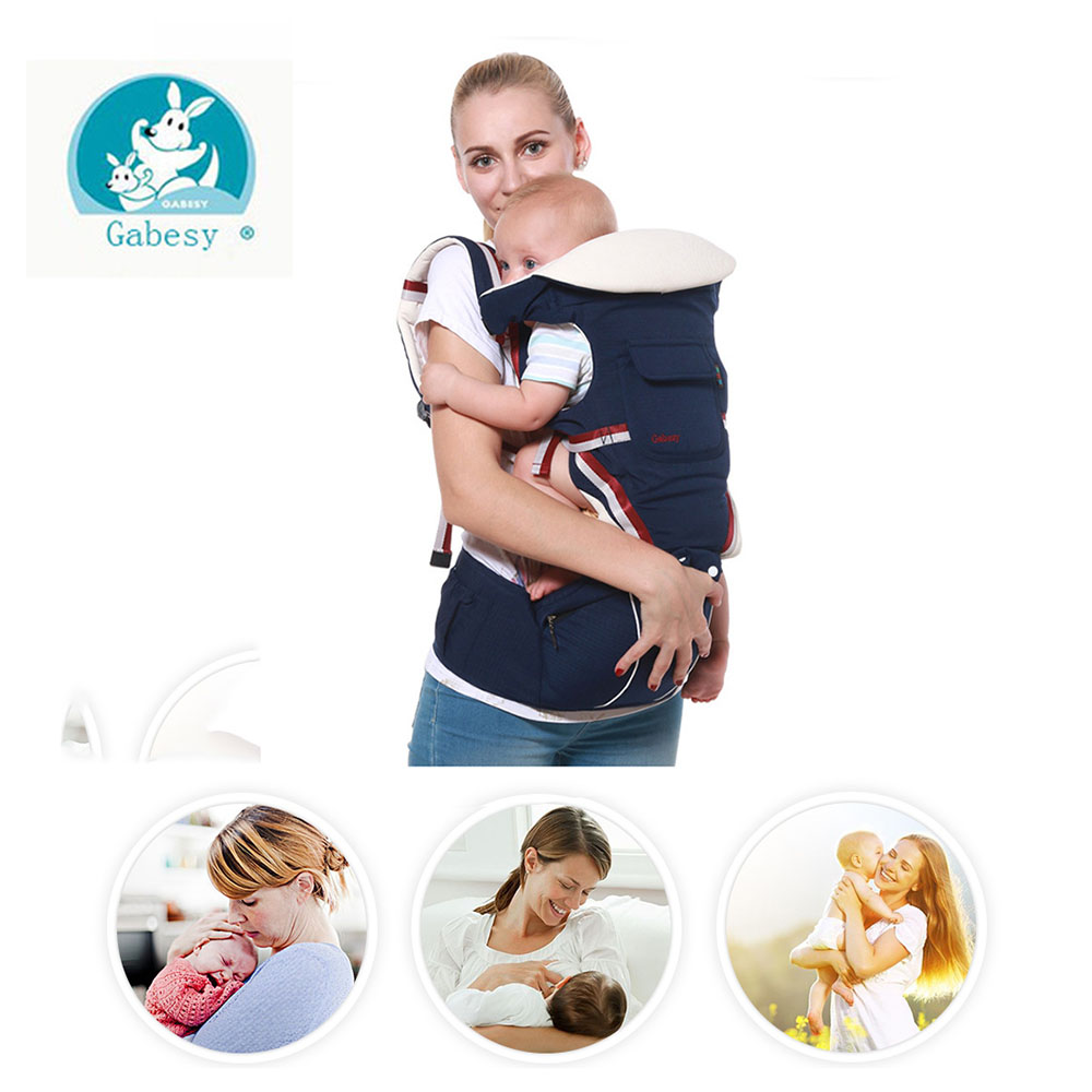 Gabesy Baby Carrier 9 In 1 Hipseat Ergonomic 360 Mochila Portabebe Baby Sling Backpack Kangaroos Children Wrap Chicco Infantil 2016 hot portable baby carrier re hold infant backpack kangaroo toddler sling mochila portabebe baby suspenders for newborn