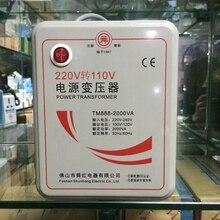Nuovo 220 V a 110 V 500 W LED Step Down Convertitore di Tensione Trasformatore Converte 500 Watt Trasporto Libero