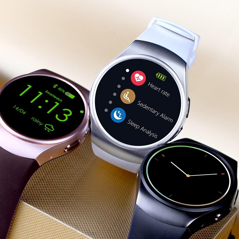 KW18 4.0 Bluetooth montres intelligentes 1.3 Pouces IPS HD écran lcd montres intelligentes Soutien SIM TF Carte téléphone montre intelligente pour IOS/Andro