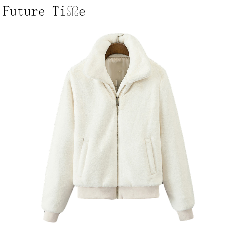 Future Time Women Winter Jackets Solid Warm Parkas Female Cotton Padded Outwear Lady Vintage Patchwork Long