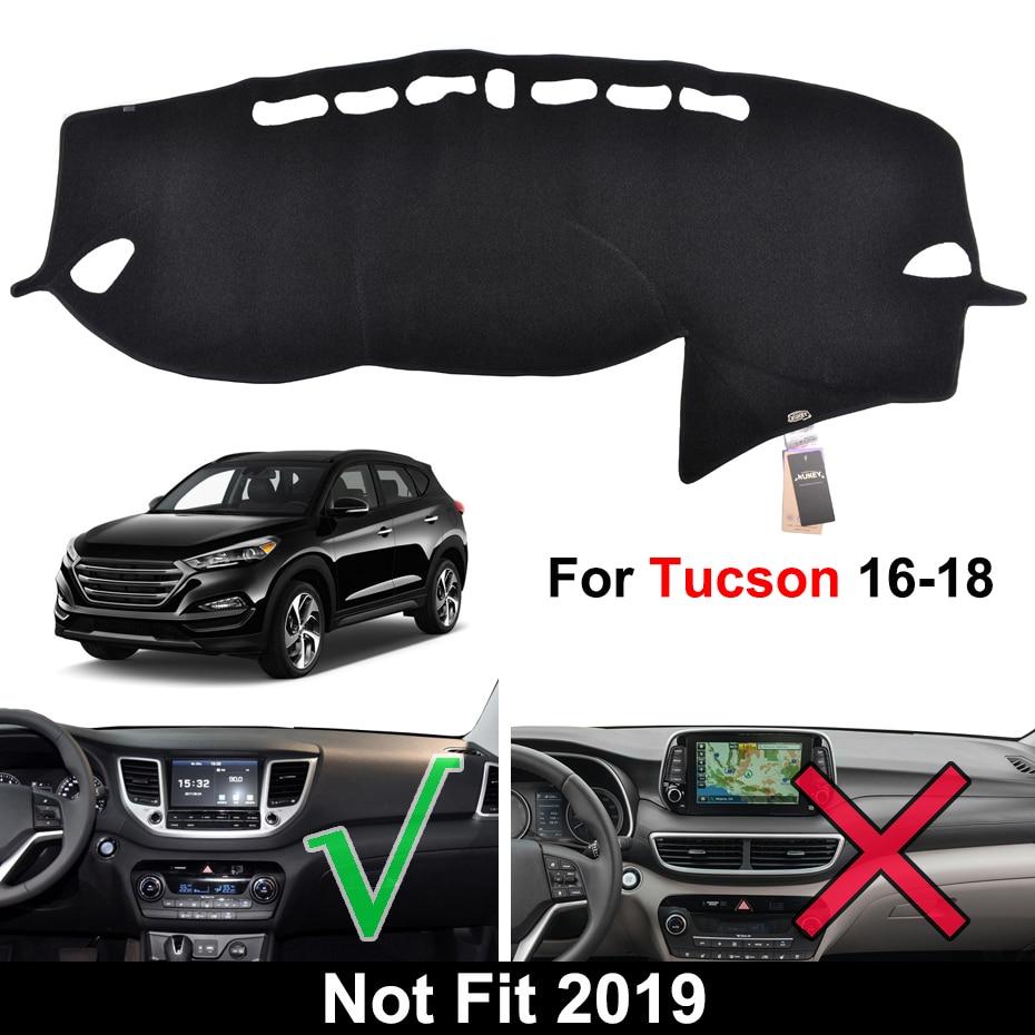 Auto Car Dashboard Dash Board Cover Mat Compatible Fit for Hyundai ix35 Tucson 2010 2011 2012 2013 2014 2015