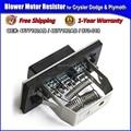 Ventilador Resistor Do Motor para a Chrysler Town & Country, Dodge Caravan, Plymouth Voyager OE # 4677180AB, 4677180AD, 973-019