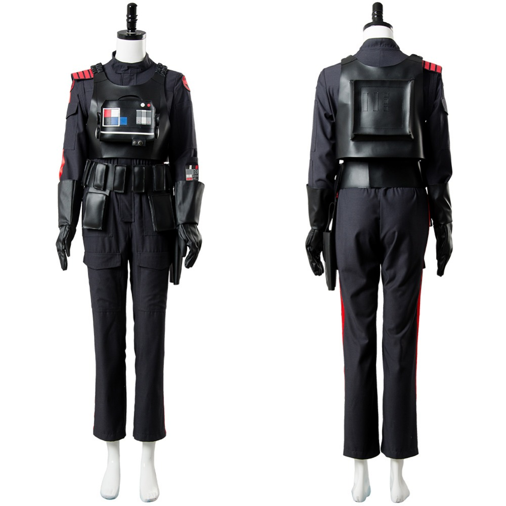 Star Wars Battlefront 2 Iden Versio Cosplay Costume Inferno Squad Uniform Suit Full Sets