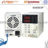 Korad KA6003P Высокая точность Программируемый Регулируемый цифровой источник питания постоянного тока 60 В/3A R232 и USB Подключите компьютерный 220 В