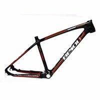 BEIOU 3k Carbon Fiber Mountain Bike Frame Ultralight 26 Inch Wheels MTB Glossy Black Unibody Internal