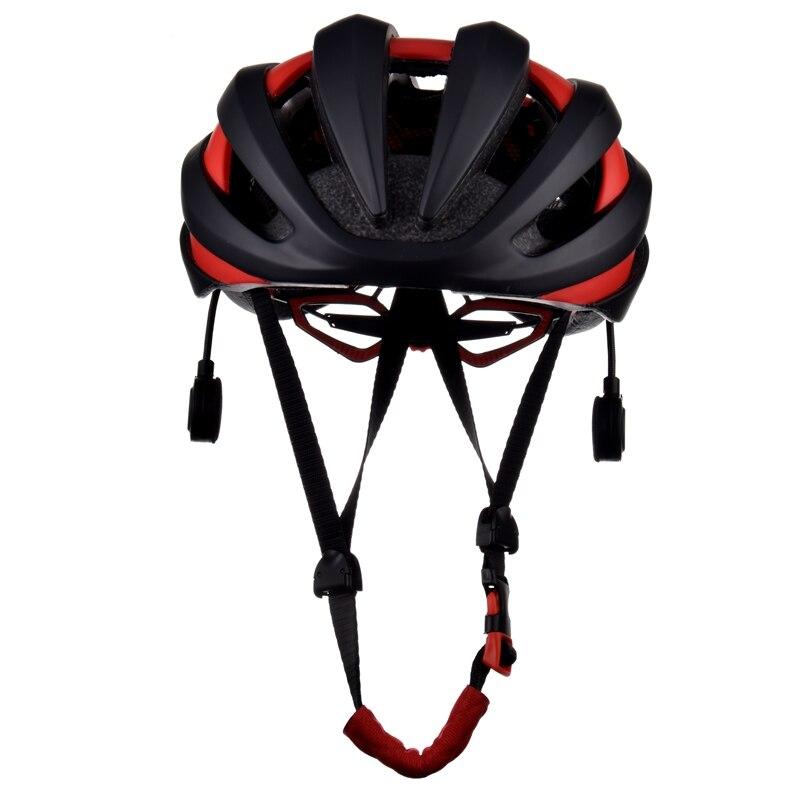 TA-777 Vélo Casque Intelligen Bluetooth Écouteur Avec LED Feu Arrière Vélo Casques 18 Évents Intégralement EPS Vélo Casques