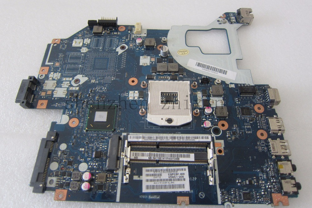 The laptop motherboard for ACER aspire v3-571 e1-571 LA-7912P HM77 REV:2.0 NBC0A11001 Full test original for acer aspire v3 551 motherboard la 8331p nbc1911001 100