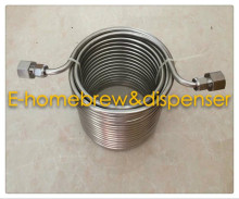15m long double layer  Wort Chiller /cooling coil for your joceky box with stainless steel 5/8G connector