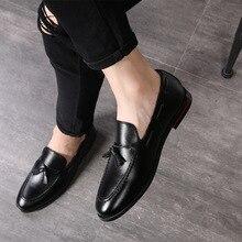 M-anxiu; модные кожаные лоферы с кисточками и черной подошвой; Роскошные деловые Свадебные модельные туфли на шнуровке; яркие свадебные туфли