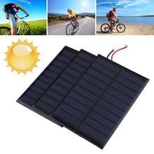 NEW Portable 5V 0.8W 160mA Mini Solar Panel Battery power charger charging Module DIY Cell car boat home Solar Panel