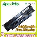 Apexway 4400 mah batería del ordenador portátil para dell inspiron n5110 n7110 n7010 m501 m501r n5010 n5010d m511r n3010 n3110 n4010 n4050 n4110