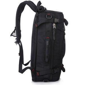 Image 5 - KAKA sac à dos étanche de grande capacité pour hommes, sac de voyage à bandoulière dordinateur, sac multifonctionnel