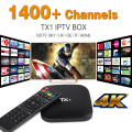 Quad Core Arabic IPTV Android TV Box with 1 Year European IPTV Italy UK Account Live TV Preload Tv Box IUDTV IPTV Free shipping