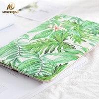 Leaves For Apple IPad Air 2 Case PU Leather Smart Wake Up Sleep Gradient Plastic Back
