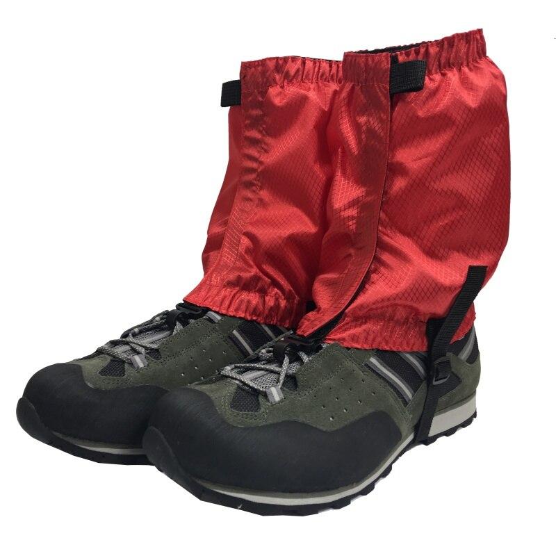 1pair//set Waterproof Walking Boot For Hiking Climbing Legging Trekking Gaiters