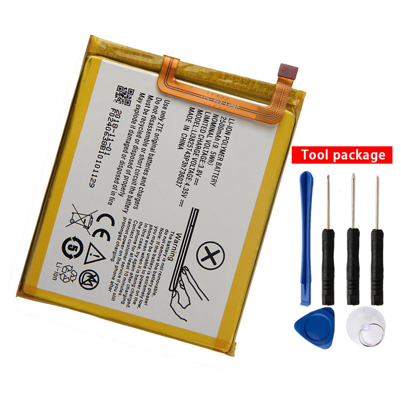 Original Li3825T43P3h736037 Phone Battery For ZTE Blade A2 Blade V7 Lite Dual SIM BV0720 2500mAh