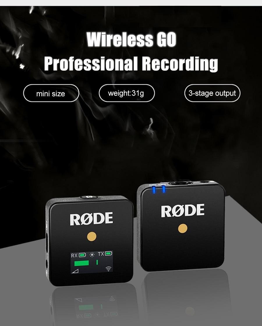 Rode Wireless GO Microphone 1