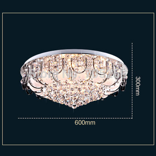 Modern brief fashion remote piecewise control ceiling light living room lights bedroom restaurant lamp led circle crystal lamps светильник потолочный odeon light alesia 2676 5c