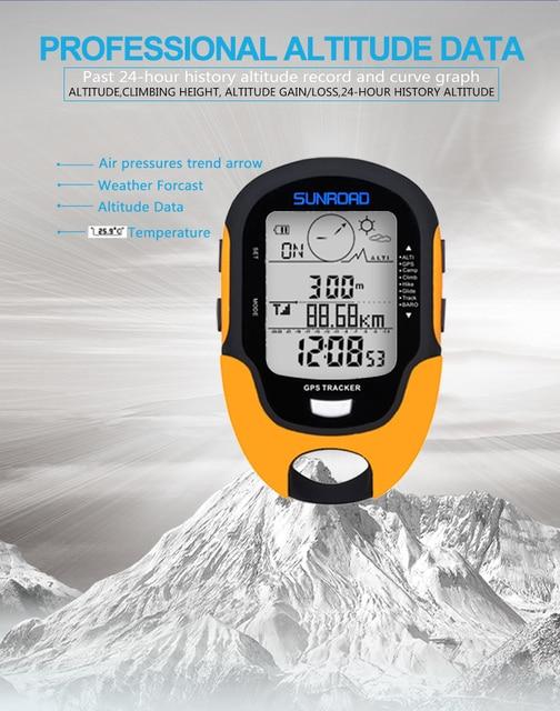 SUNROAD GPS Navigation Tracker 6