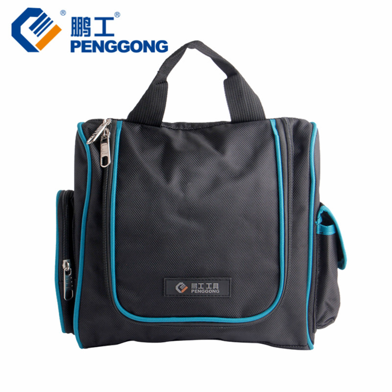 PENGGONG Tool Bag Oxford Canvas Bag Tools Waterproof Storage Toolkit Multifunctional Electrician Construction Tools 1PC fasite canvas tool bags for electrician with laptop bag handbag oxford fabric multi function tool bag free shipping