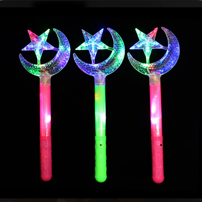 Bright Children Led Magic Animal Butterfly Wand Sticks Flashing Light-up Glow Spring Sticks Party Concert Cheering Props Christmas High Quality Materials Costume Props