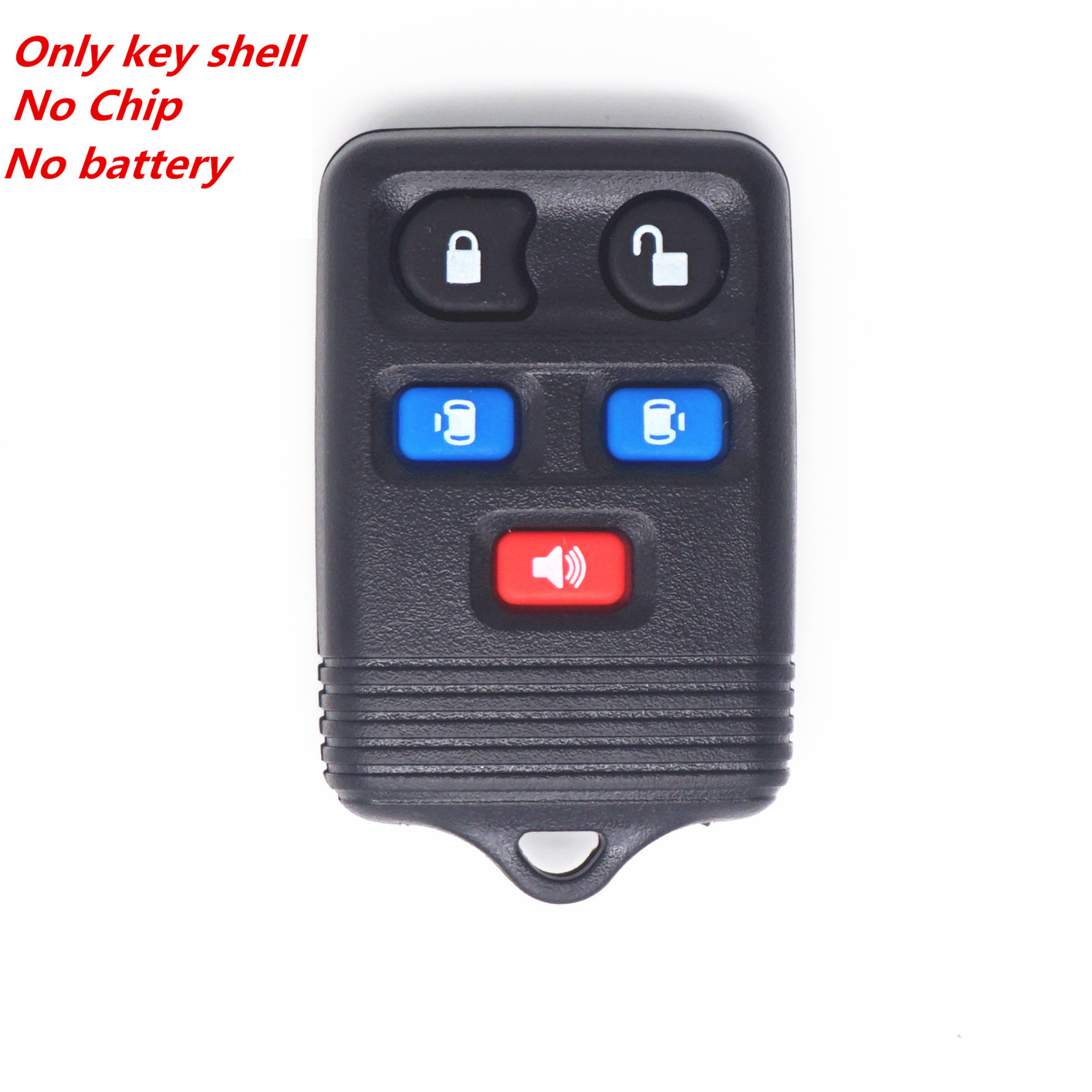New 5 Buttons Remote Key Case Shell For Ford Freestar Expedition Mercury Lincoln
