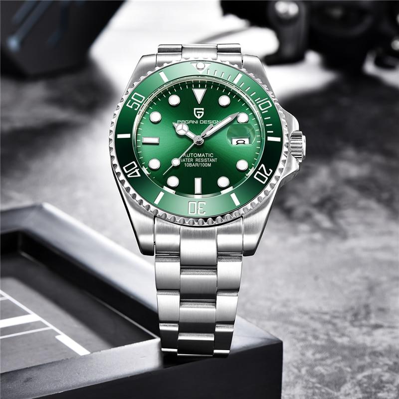 PAGANI DESIGN Brand Luxury Men Watches Business Sport Waterproof Automatic Mechanical Sapphire Wristwatch Relogio Masculino 2019 - 2