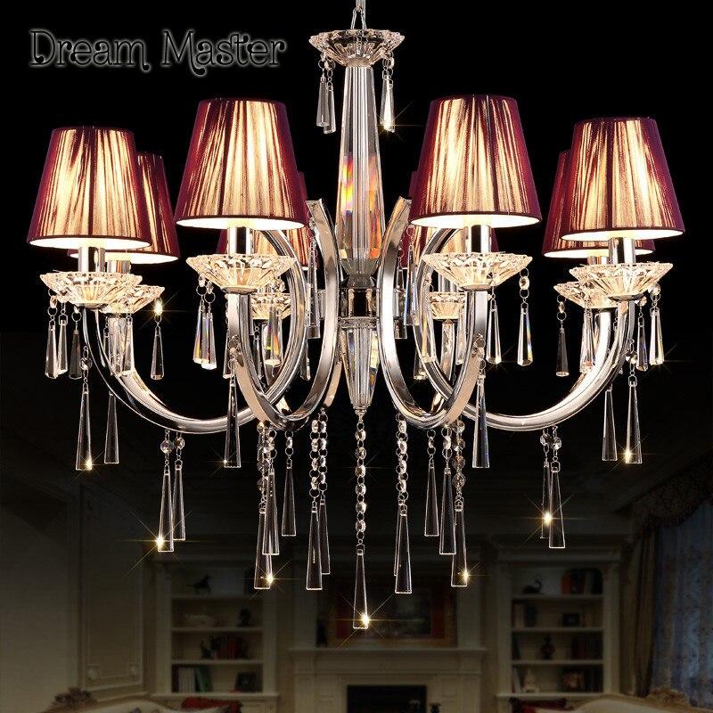 European luxury crystal chandelier duplex building lobby villa staircase bedroom hotel modern Chandelier free shipping evolis avansia duplex expert smart