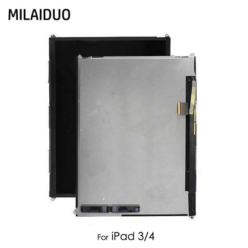 Écran LCD Pour iPad 3 4 3rd Gen A1416 A1430 A1403 4th Gen A1458 A1459 A1460 Écran Tactile Moniteur à Écran module de Remplacement