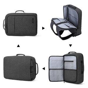 Image 3 - BAGSMART Computer Portatile Da 15.6 Pollici Zaino Multifunzionale Bolsa sacchetto di Affari Borse Da Viaggio Mochila per Notebook Zaino del Sacchetto di Scuola