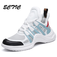 European style Summer Spring Breathable Women Running Shoes Platform Sneakers Outdoor Height Increasing Women Walking Shoes