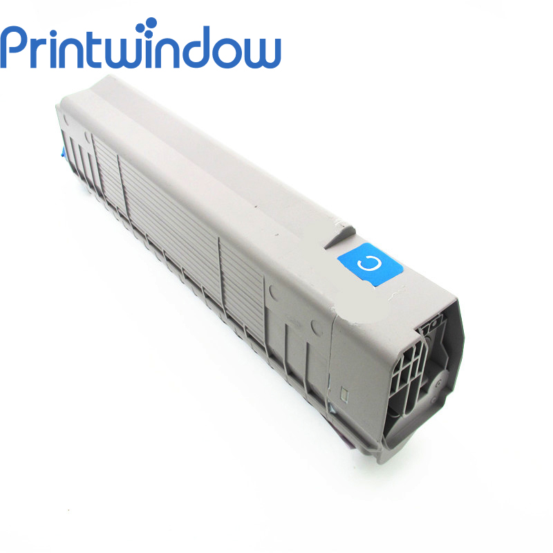 Printwindow Compatible Toner Cartridge for OKI C810/830 2x non oem toner cartridges compatible for oki b401 b401dn mb441 mb451 44992402 44992401 2500pages free shipping