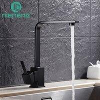 Nieneng Torneira Kitchen Faucets Mixer Black Sink Tap Kitchen Appliances Tools Brass Faucet Basin Water Mixers