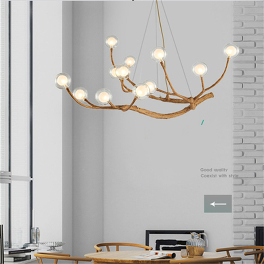 nordic LED Chandelier Lighting Design Light Glass Resin Branch Light Chandeliers Ceiling Lamparas Lustre Art kitchen fixturesnordic LED Chandelier Lighting Design Light Glass Resin Branch Light Chandeliers Ceiling Lamparas Lustre Art kitchen fixtures