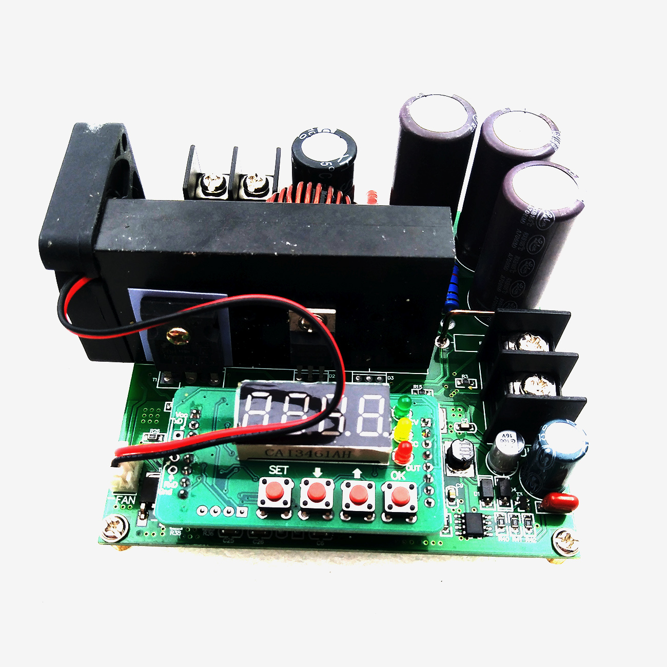 5pcs/lot B900W adjustable impulse module Current Transformer Voltage Regulator Module Input Constant 8 60v to 10 120v 900w-in Integrated Circuits from Electronic Components & Supplies